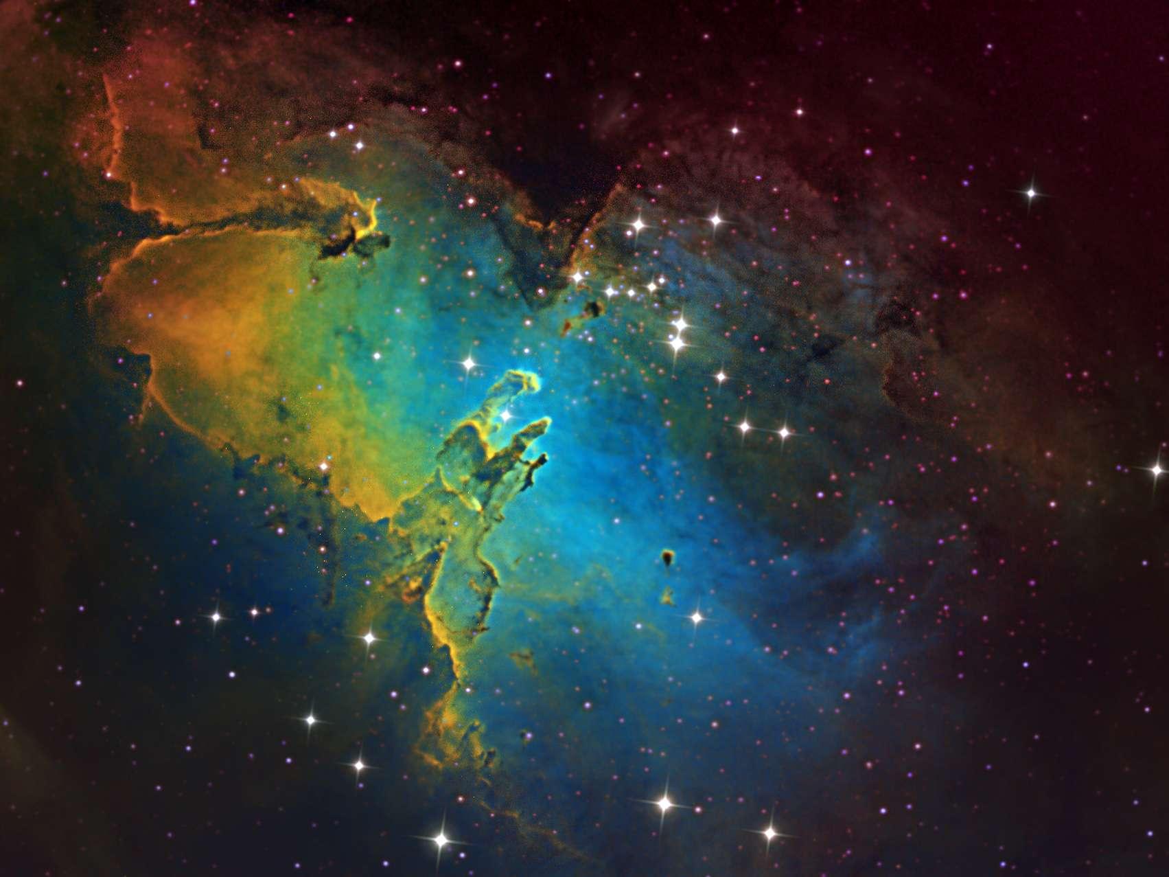 m16 eagle nebula face - photo #12